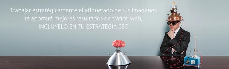 Etiquetado imágenes aumentar trafico web