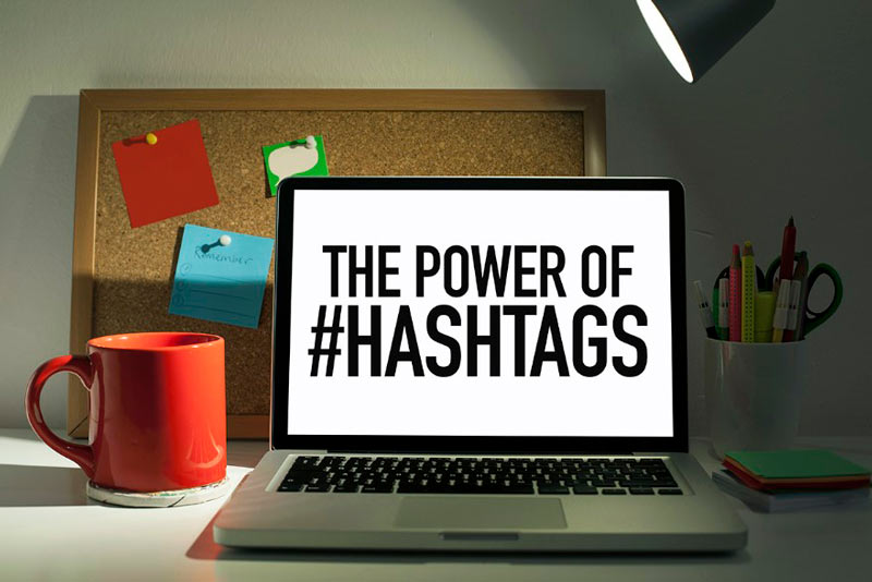 Hashtags posicionamiento